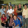 The 2009 India yoga retreat group leaving Sydney